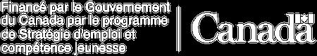 Financé par le Gouvernement du Canada par le programme de Stratégie d'emploi et compétence jeunesse